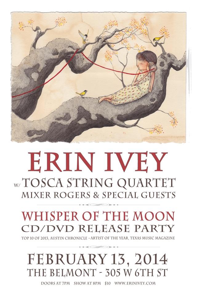 EI Whisper CD Release Poster sm