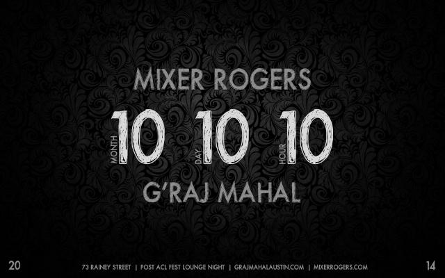 Mixer Rogers Graj Mahal 1