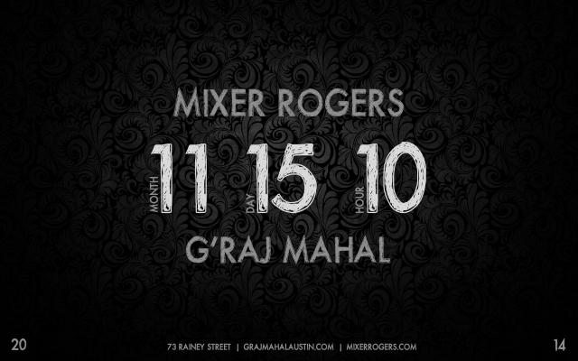 Mixer Rogers Graj Mahal 2