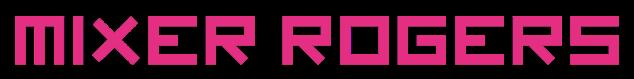 Mixer Rogers Pink Fjord Logo